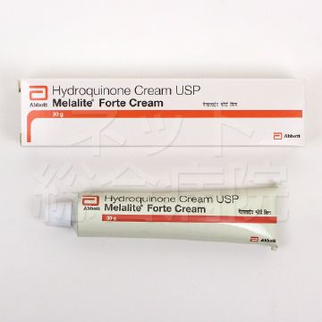 Melalite forte cream 4% hydroquinone